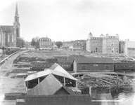 L'ancienne gare de Chicoutimi