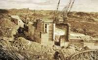 Le barrage de Chute-à-Caron